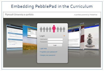 Embedding PebblePad in the Curriculum