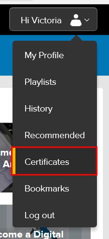 Adding your Lynda com certificates to your LinkedIn Profile