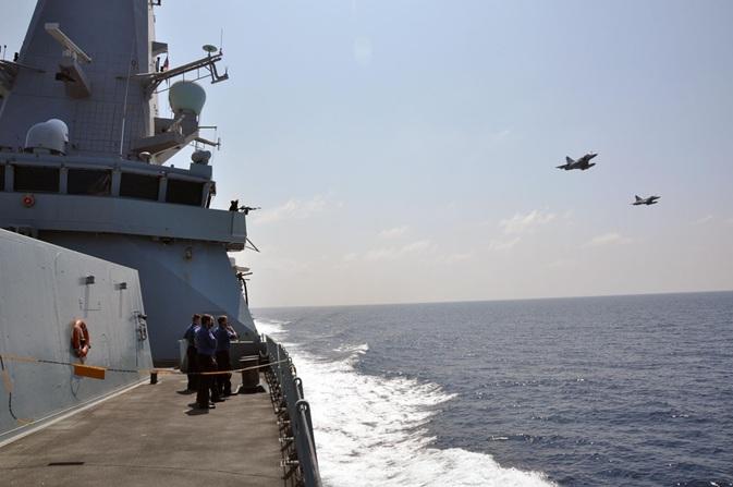 HMS Defender Mirage 2000n