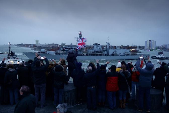 HMS ST ALBANS 2
