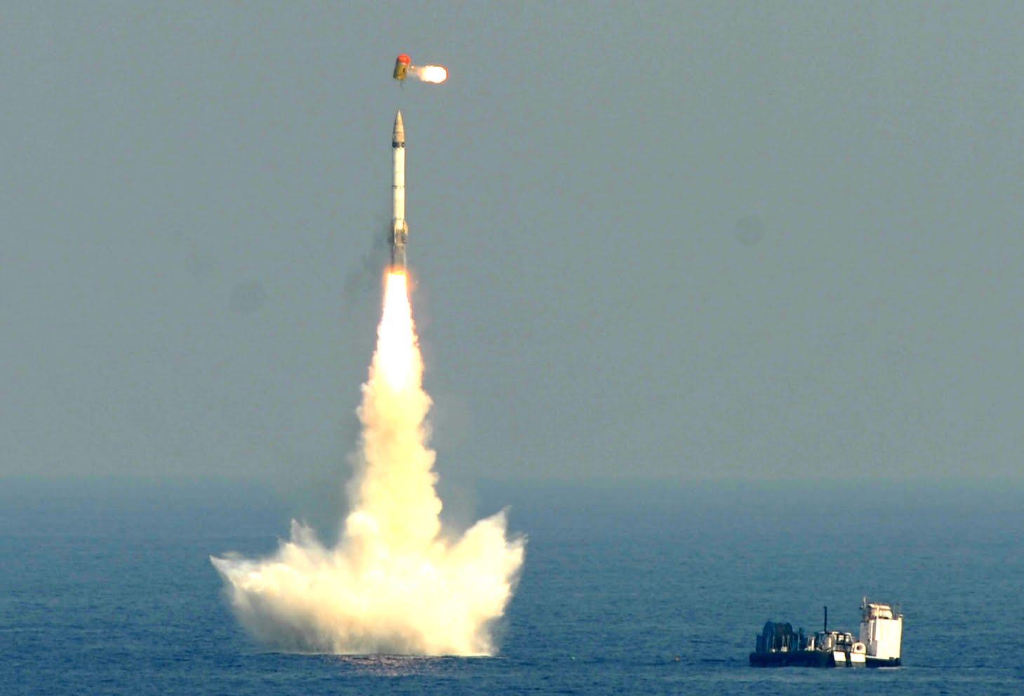 india conducts nuke capable undersea ballistic missile