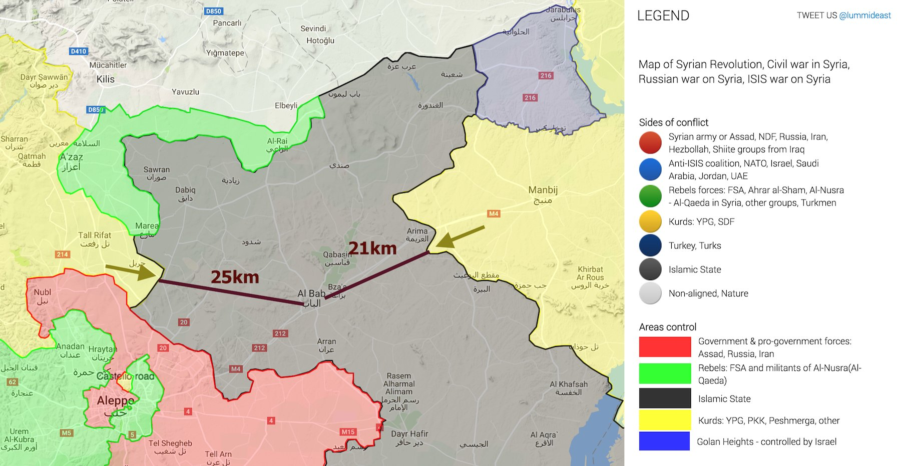THE TURKISH MILITARY INTERVENTION IN SYRIA | DCSS News on