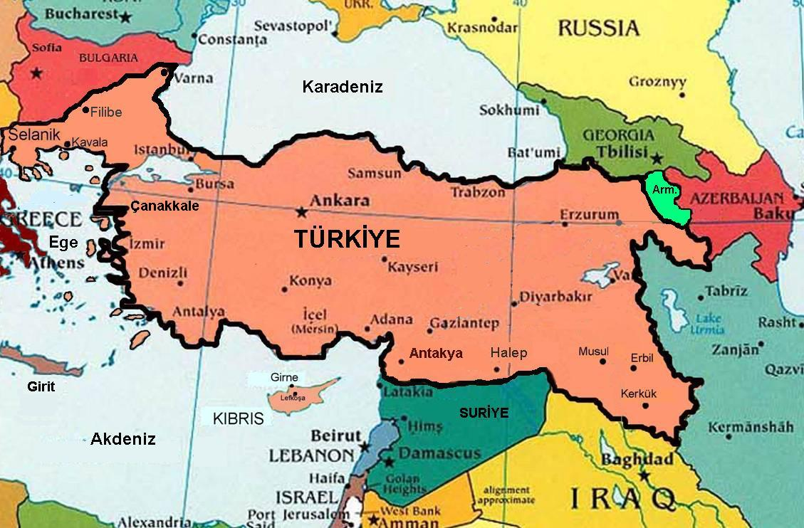 TURKEY\'S NEW MAPS ARE RECLAIMING THE OTTOMAN EMPIRE | DCSS News