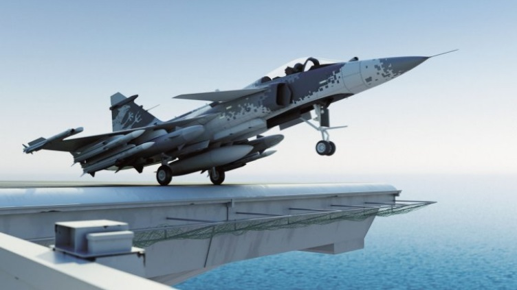 SAAB TO RESPOND TO INDIAN NAVY'S RFI WITH JAS-39 GRIPEN
