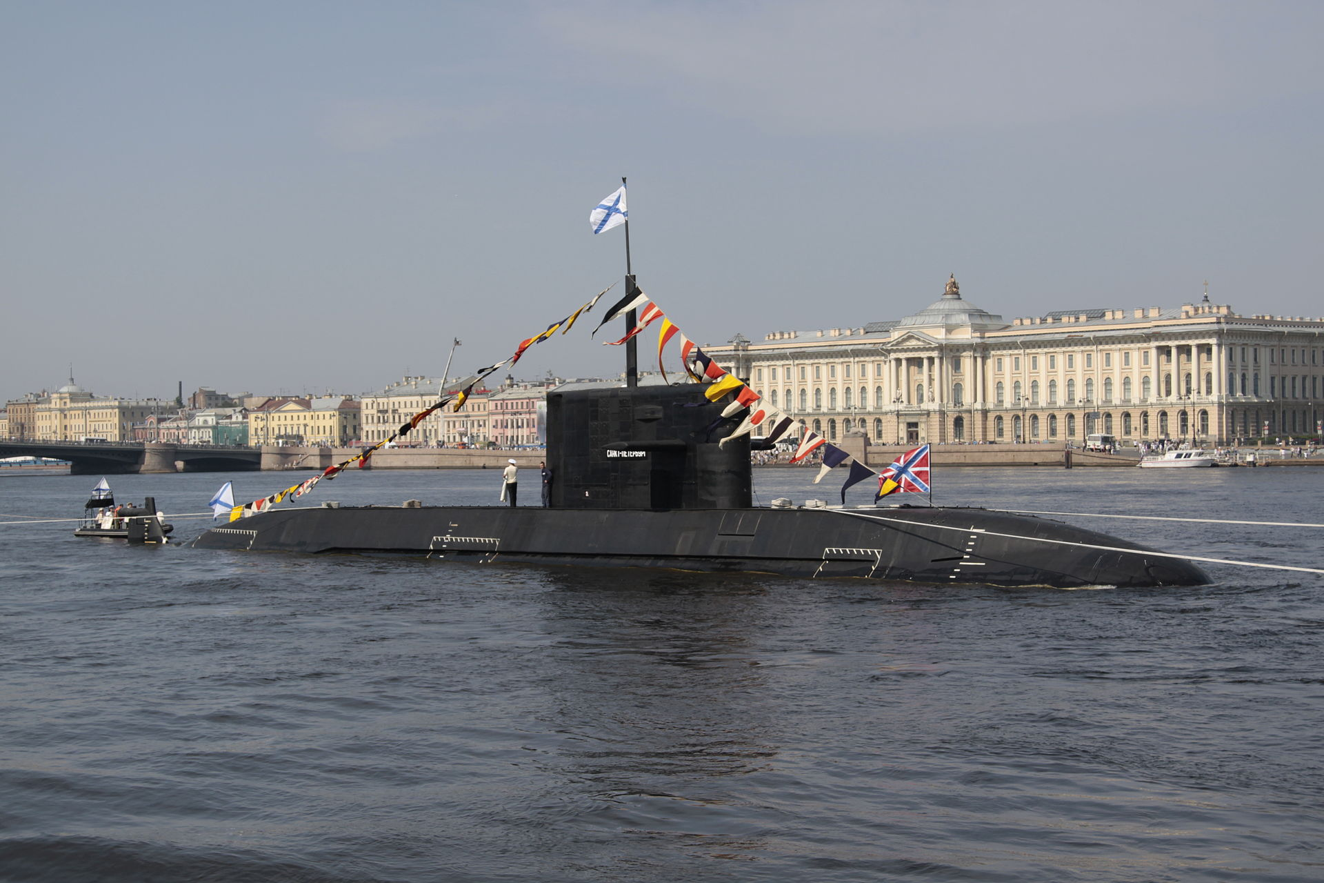Submarine Kronstadt of Project 677 launched 6