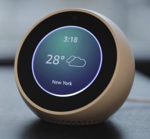 Example with Screen - Echo Spot