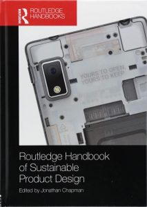 The Routledge Handbook of Sustainable Product Design