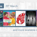 New eBooks: 25th March 2019