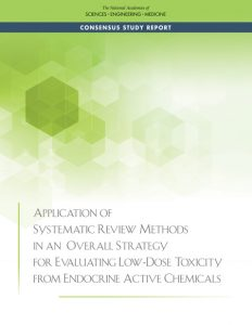 Application of systematic review methods in an overall strategy for evaluating low-dose toxicity from endocrine active chemical /