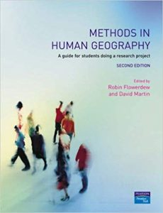 Methods in human geography a guide for students doing a research project