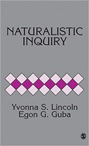 Naturalistic inquiry