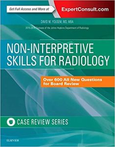 Non-interpretive skills for radiology