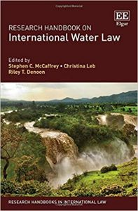 Research handbook on international water law