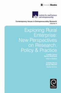 Exploring rural enterprises : new perspectives on research, policy & practice
