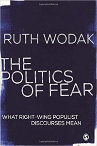 The politics of fear : what right-wing populist discourses mean