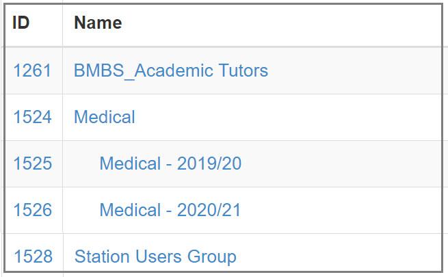 Form2 - Definition of Groups - TELMeD