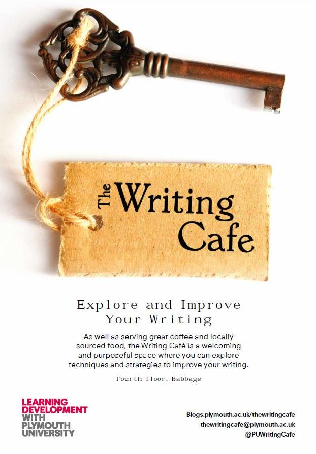 Writing Cafe poster