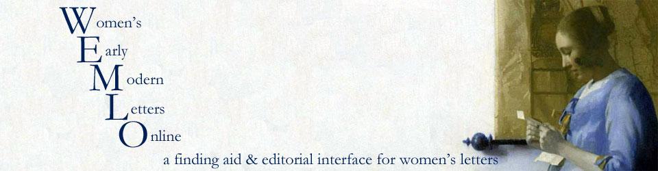 Women's Early Modern Letters Online